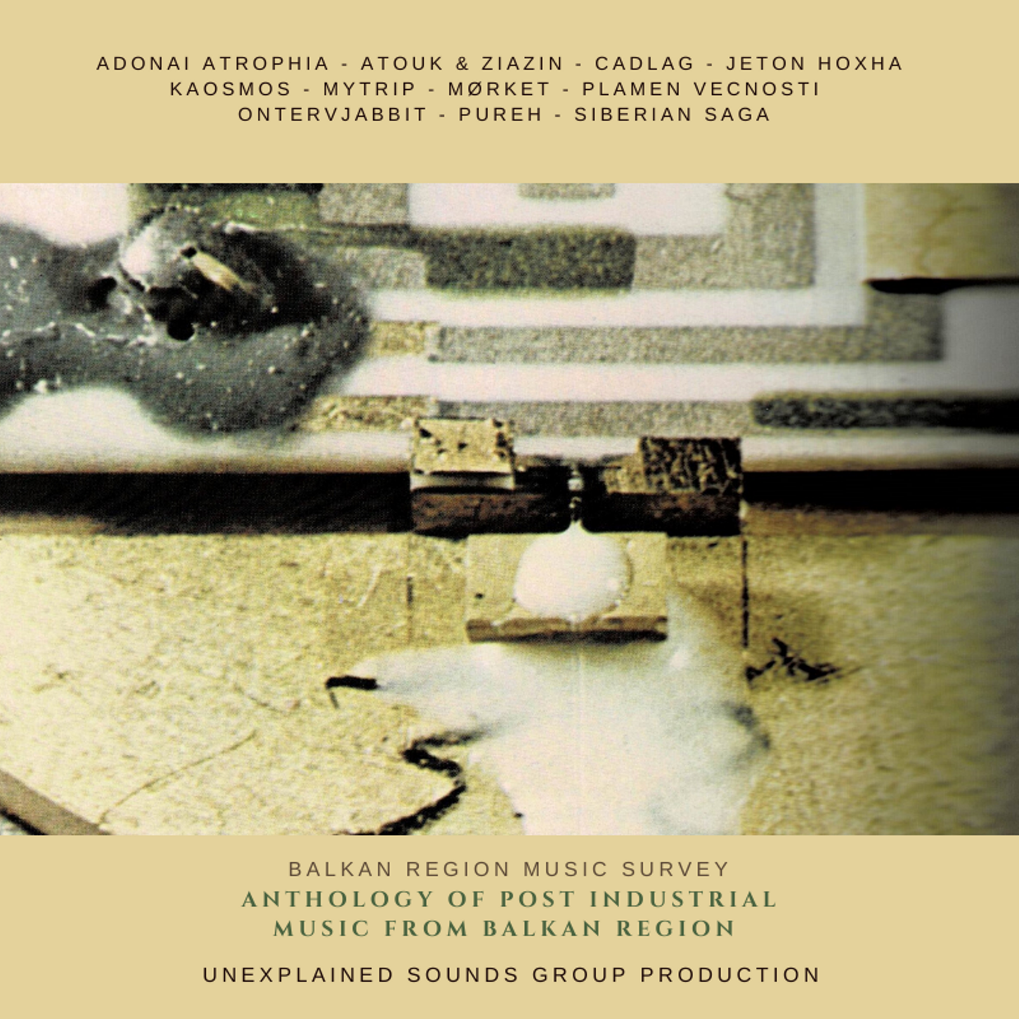 Anthology Of Post Industrial Music From Balkan Region